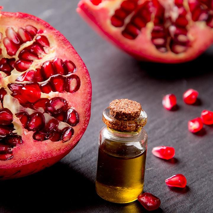 Skincare Benefits of Pomegranate Seed Oil.  ORGANIC 1 Co. Naturally Attractive Skincare. Professional-grade and USDA Certified Organic.  No Pesticides