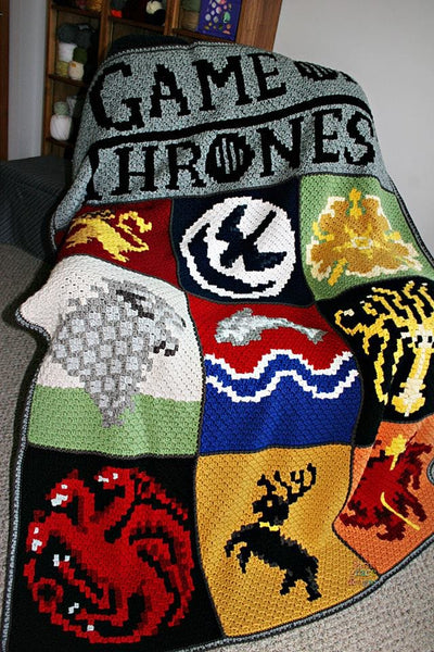 Game of Thrones - Finished Blanket