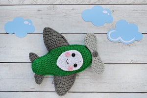 Airplane Kawaii Cuddler® Crochet Pattern