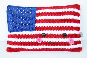 American Flag Kawaii Cuddler® Crochet Pattern