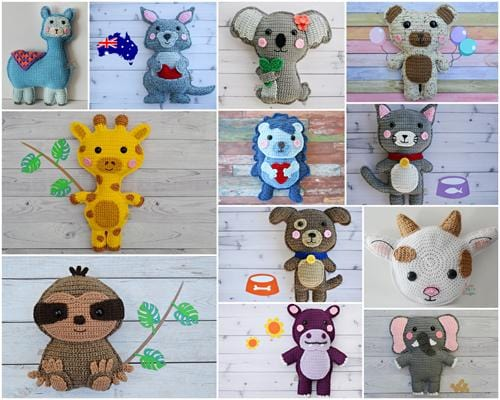 Animal Crochet Pattern Bundle