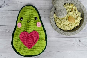 Avocado Kawaii Cuddler® Crochet Pattern