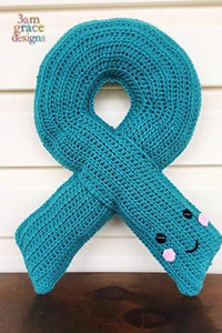 Awareness Ribbon Kawaii Cuddler® Crochet Pattern