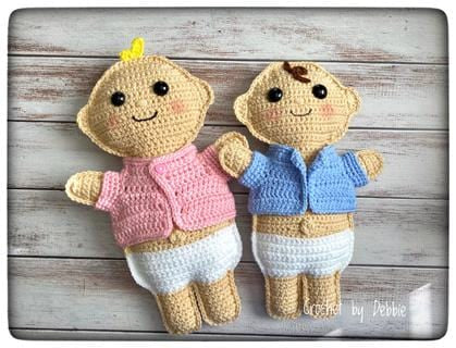 Baby Doll Kawaii Cuddler® Crochet Pattern