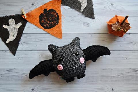 Bat Kawaii Cuddler® Crochet Pattern