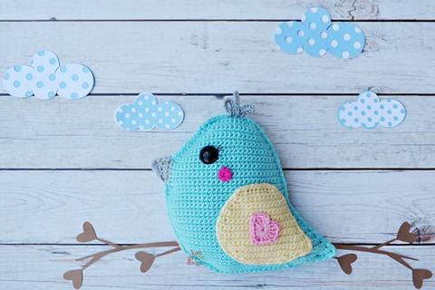 Bird Kawaii Cuddler® Crochet Pattern
