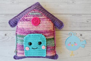 Birdhouse Kawaii Cuddler® Crochet Pattern