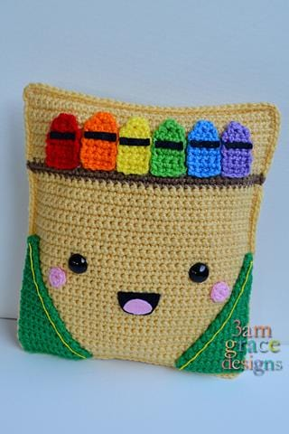 Crayon Box Kawaii Cuddler® Crochet Pattern