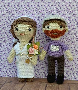 Brandon Farris & Co-Host Kelly BUNDLE Amigurumi Crochet Patterns