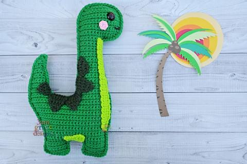 Brontosaurus Kawaii Cuddler® Crochet Pattern