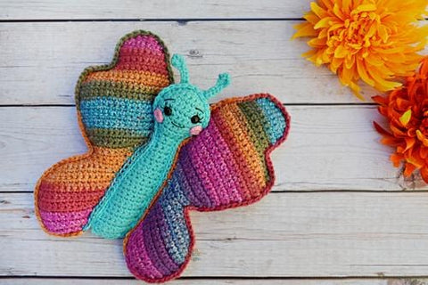 Butterfly Kawaii Cuddler® Crochet Pattern