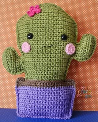 Cactus Kawaii Cuddler™ Crochet Pattern