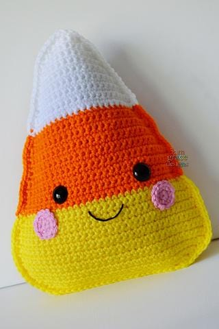 Candy Corn Kawaii Cuddler® Crochet Pattern