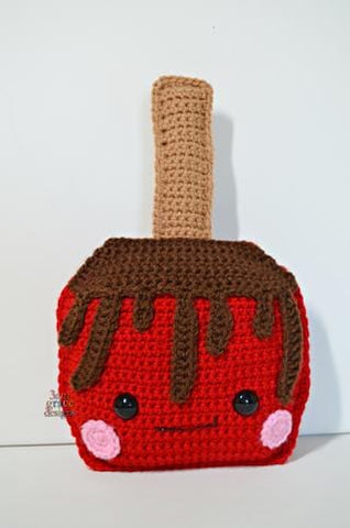 Candy Apple Kawaii Cuddler® Crochet Pattern