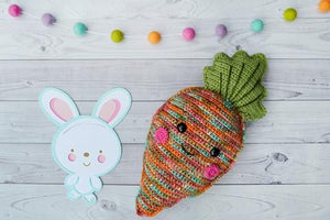 Carrot Kawaii Cuddler® Crochet Pattern