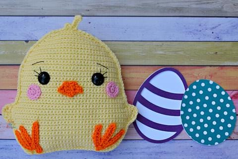 Chick Kawaii Cuddler® Crochet Pattern