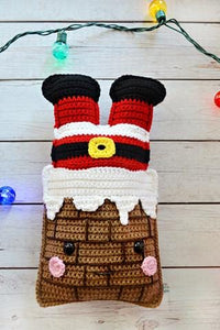 Chimney Santa Kawaii Cuddler® Crochet Pattern