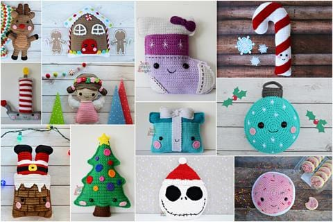 Christmas Crochet Pattern Bundle