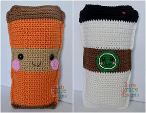 Coffee Kawaii Cuddler™ Crochet Pattern