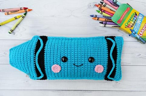Crayon Kawaii Cuddler® Crochet Pattern