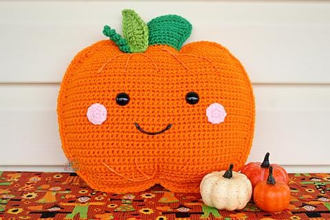 Pumpkin Kawaii Cuddler® Crochet Pattern