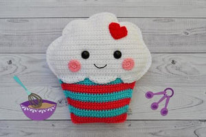 Cupcake Kawaii Cuddler® Crochet Pattern