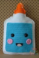 School Glue Kawaii Cuddler® Crochet Pattern