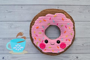 Donut Kawaii Cuddler® Crochet Pattern
