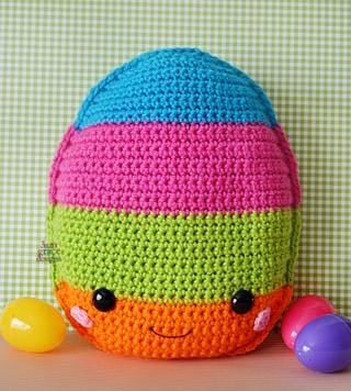 Easter Egg Kawaii Cuddler® Crochet Pattern