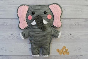Elephant Kawaii Cuddler® Crochet Pattern