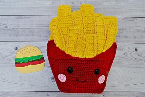 French Fries Kawaii Cuddler®Crochet Pattern