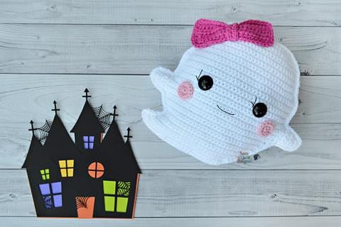 Ghost Kawaii Cuddler® Crochet Pattern