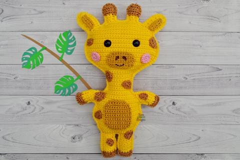 Giraffe Kawaii Cuddler™ Crochet Pattern