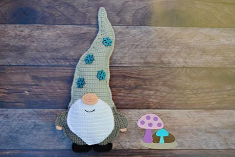 Gnome Kawaii Cuddler® Crochet Pattern
