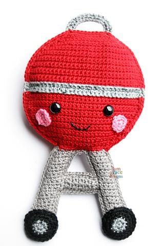 Grill Kawaii Cuddler™ Crochet Pattern