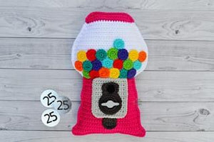 Gumball Machine Kawaii Cuddler® Crochet Pattern
