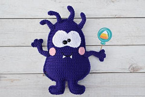 Hairy Monster Kawaii Cuddler® Crochet Pattern