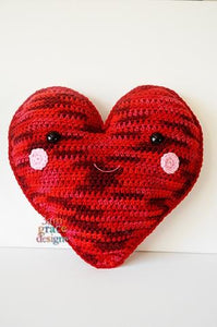 Heart Kawaii Cuddler™ Crochet Pattern
