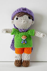 Boy Doll Amigurumi Crochet Pattern