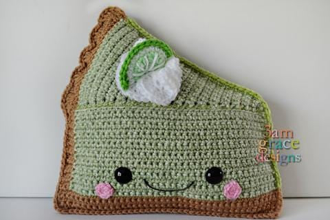 Key Lime Pie Kawaii Cuddler® Crochet Pattern