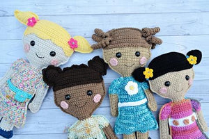 Little Girl Doll Kawaii Cuddler™ Crochet Pattern
