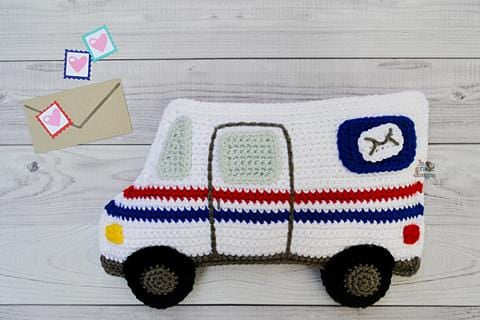 Mail Truck Kawaii Cuddler® Crochet Pattern