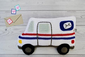 Mail Truck Kawaii Cuddler™ Crochet Pattern