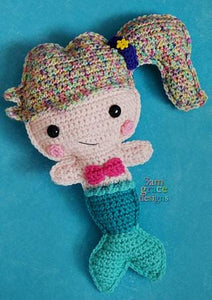 Mermaid Kawaii Cuddler™ Crochet Pattern