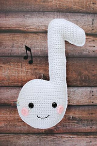 Music Note Kawaii Cuddler® Crochet Pattern