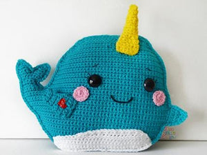 Narwhal Kawaii Cuddler® Crochet Pattern