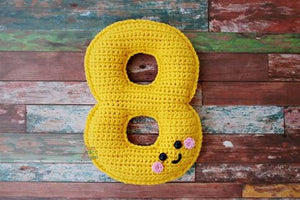 Number 8 Eight Kawaii Cuddler™ Crochet Pattern