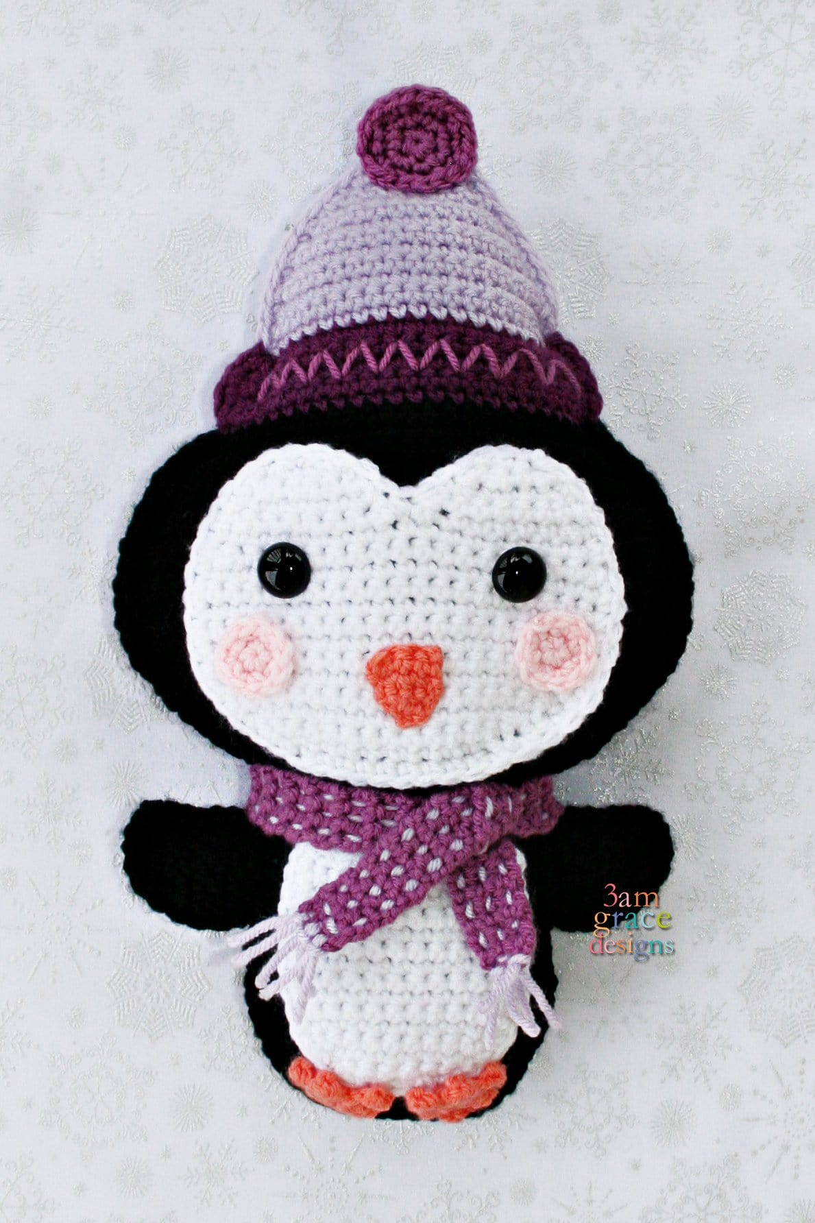 Penguin Kawaii Cuddler™ Crochet Pattern
