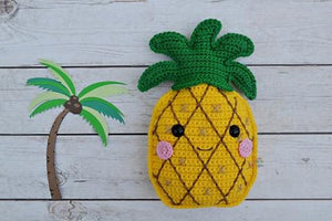 Pineapple Kawaii Cuddler® Crochet Pattern
