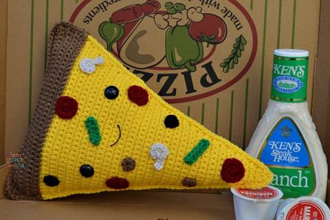 Pizza Kawaii Cuddler® Crochet Pattern